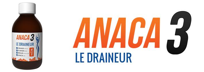 Anaca3 Draineur: Ou l'acheter et comment l'utiliser? - Le