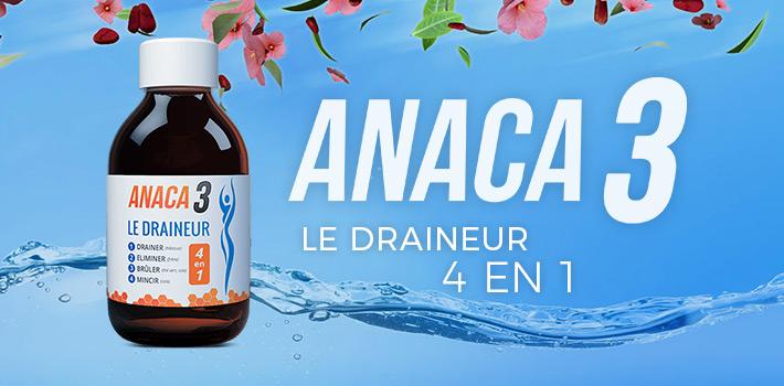Anaca3 le draineur: Ou l'acheter et comment l'utiliser?