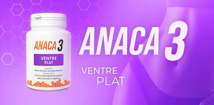 OÙ Acheter Anaca3 ventre plat et pourquoi ?