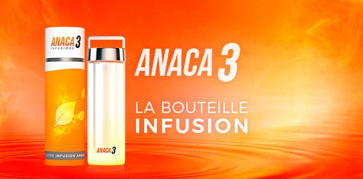 Bouteille infusion Anaca3 : comment ça marche