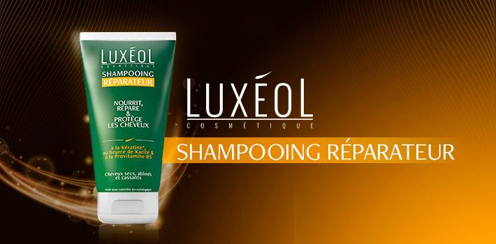 Luxéol le shampooing réparateur : composition