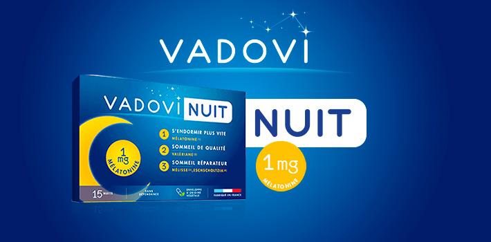 Vadovi Nuit pour un sommeil réparateur